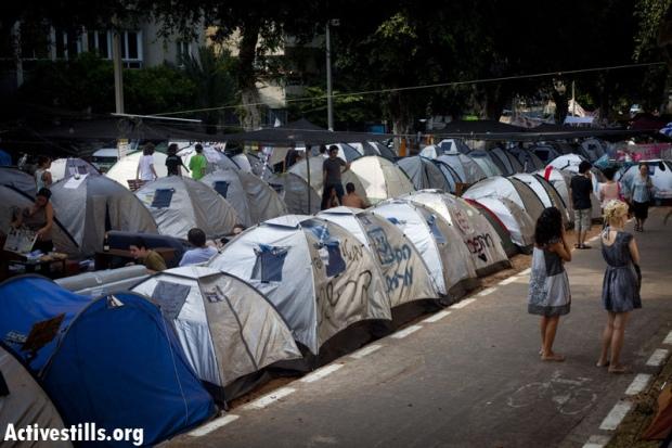 Tel Aviv Tent City
