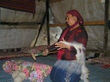Salima, a Bedouin Carpet Weaver