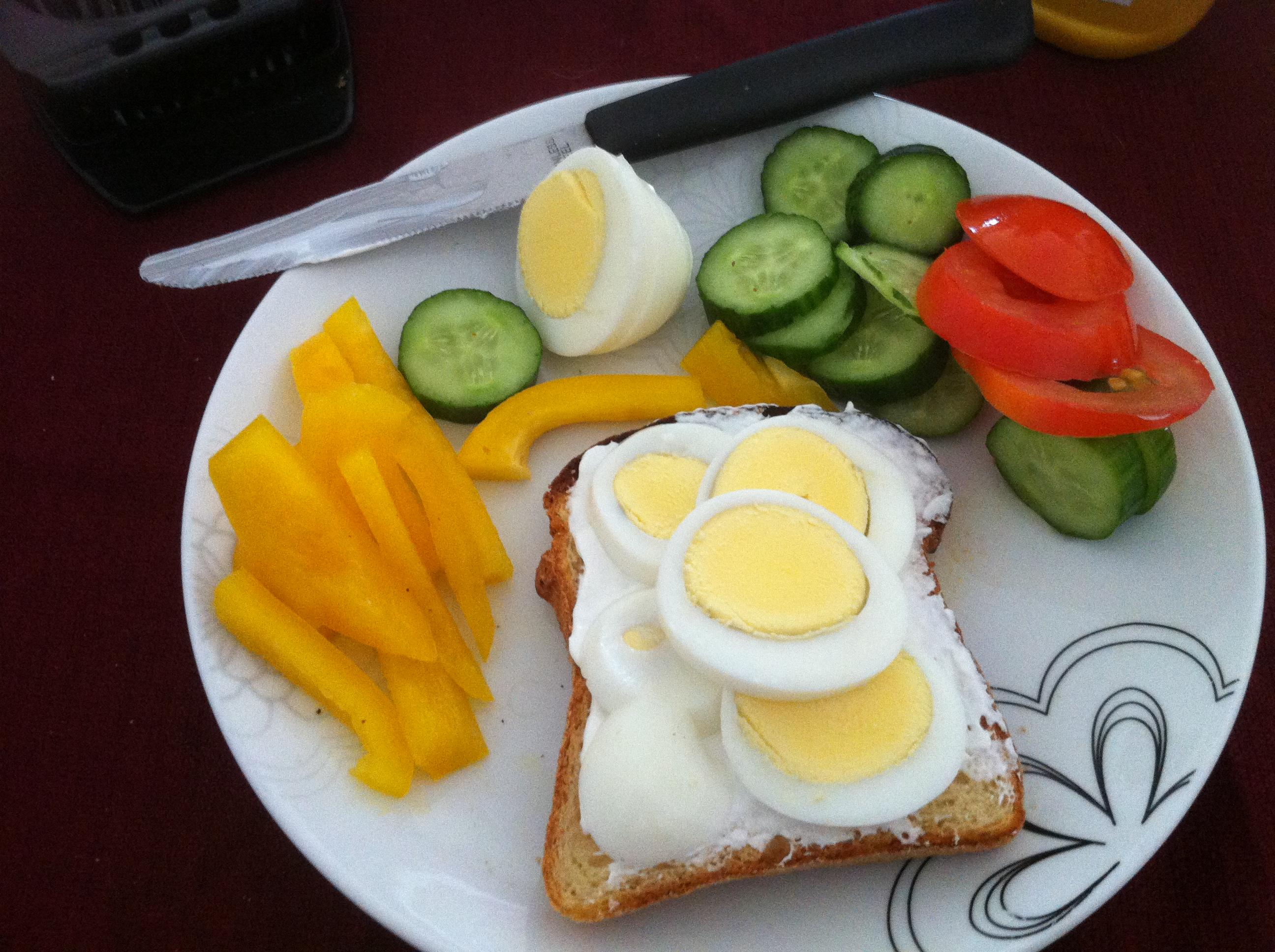 Kibbutz Breakfast