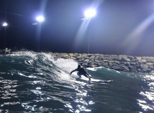 Surfing in Ashdod