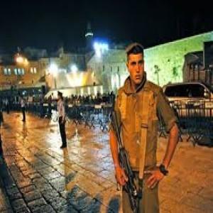 Security in Jerusalem - IDF